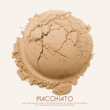 Macchiato  [With Jar]│Loose Mineral Foundation