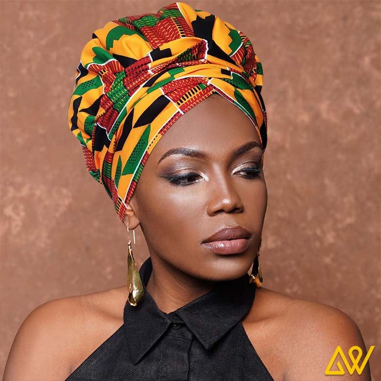 If you are looking for comfort and style that saves time and effort, try the new Head wraps. They are the most convenient and easy way to give a fine finish to your attire. It is a piece of clothing accessory that is worn in the hair or around the forehead, usually to hold hair away from the face or eyes. You have an option to choose from designer head wraps to ordering a customised head wrap at Anewow.  These head-wraps are all with an elastic cap or elastic edge that makes it easy to be fixed on our head, giving you multiple choices to drape them in a manner that suits all your styles. These elastic edges in our designer head wraps allow it to be adjusted according to your face. They give an instant lift to your golden face ratio.  We ensure the use of the most delicate fabric, Satin in all our head wraps so that the softness and comfort is so lightweight that you will forget you have it on. The head wrap are easy to fit and give a smooth finish.   The satin line head wrap ensure Reduced Frizz, Breakages And Split Ends Promote Hair Growth And Volume Maintain Your Hairstyle For Longer  PERFECT SIZE: 51 x 3.54 inch MATERIAL:  Waxed Cotton &  Satin Inner FEATURE: Effortless Wearing & suitable for everyday use  16-70 YRS  All of our the stretch head wraps can be worn with absolute minimal time and effort.  Another added advantage of these good length head wraps is that they cover all hair length and styles and the eye catchy design allows you to stand out in the crowd.