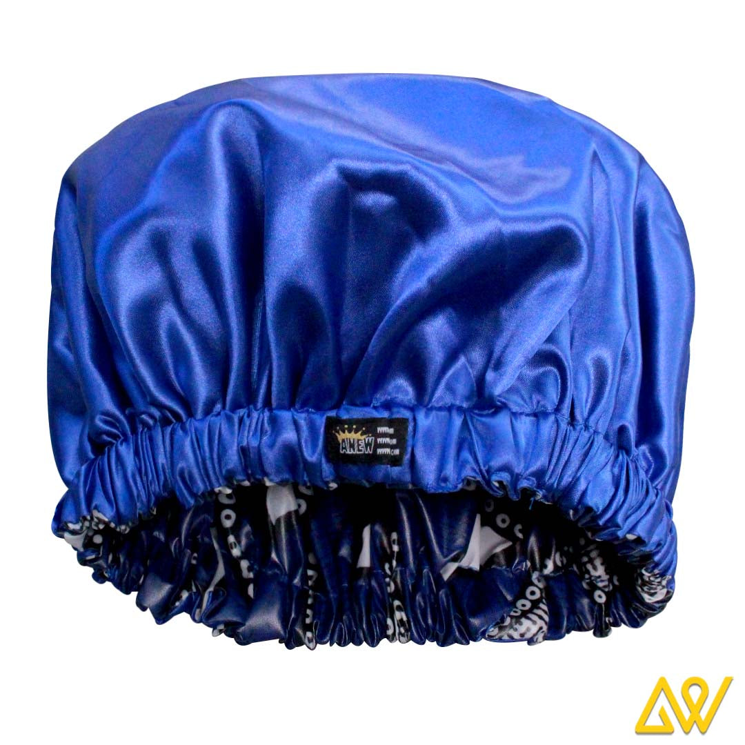 Shower caps are one of the most useful accessories that one must carry while travelling out for a day out with friends for enjoyment. Our designer shower caps are extremely soft and can be folded to a very small size to fit absolutely anywhere. They are lightweight and easy to carry while travelling. Our waterproof shower caps have a shelf life of 3 years allowing you to pair them with your favourite dress every time you move out in it. These waterproof shower caps are a perfect fit for showering inside and outdoors. They protect your hair from unnecessary getting wet and you can re-use them for tying hair when making up, cleaning face, etc. These shower caps keep your hair dry, durable and comfortable all day long. These colourful shower caps are sized to fit all hair lengths and head shapes. These designer shower caps are greatly cherished by women all across the world for its ability to protect hair from getting wet while bathing. These shower caps are specifically designed with a satin fabric lining to keep hair moist free. The satin lined shower caps slides easily, without pulling your hair or leaving them exposed. Whether you are showering or bathing, these elegant, reusable designer shower caps will surely eliminate the need to use the old, disposable kind. These colourful shower caps are a perfect combination of style, comfort and quality. We employ a premium quality material to all our satin lined shower caps to ensure long lasting product. AFTER-SALE SERVICE We manufacture our product with utmost credibility. You just need to order and try it in the comfort of your home. Your trust in our product is our strength…Still, if it fails to meet up to your expectation, you can return the same (with the same trust) to us within 14 days