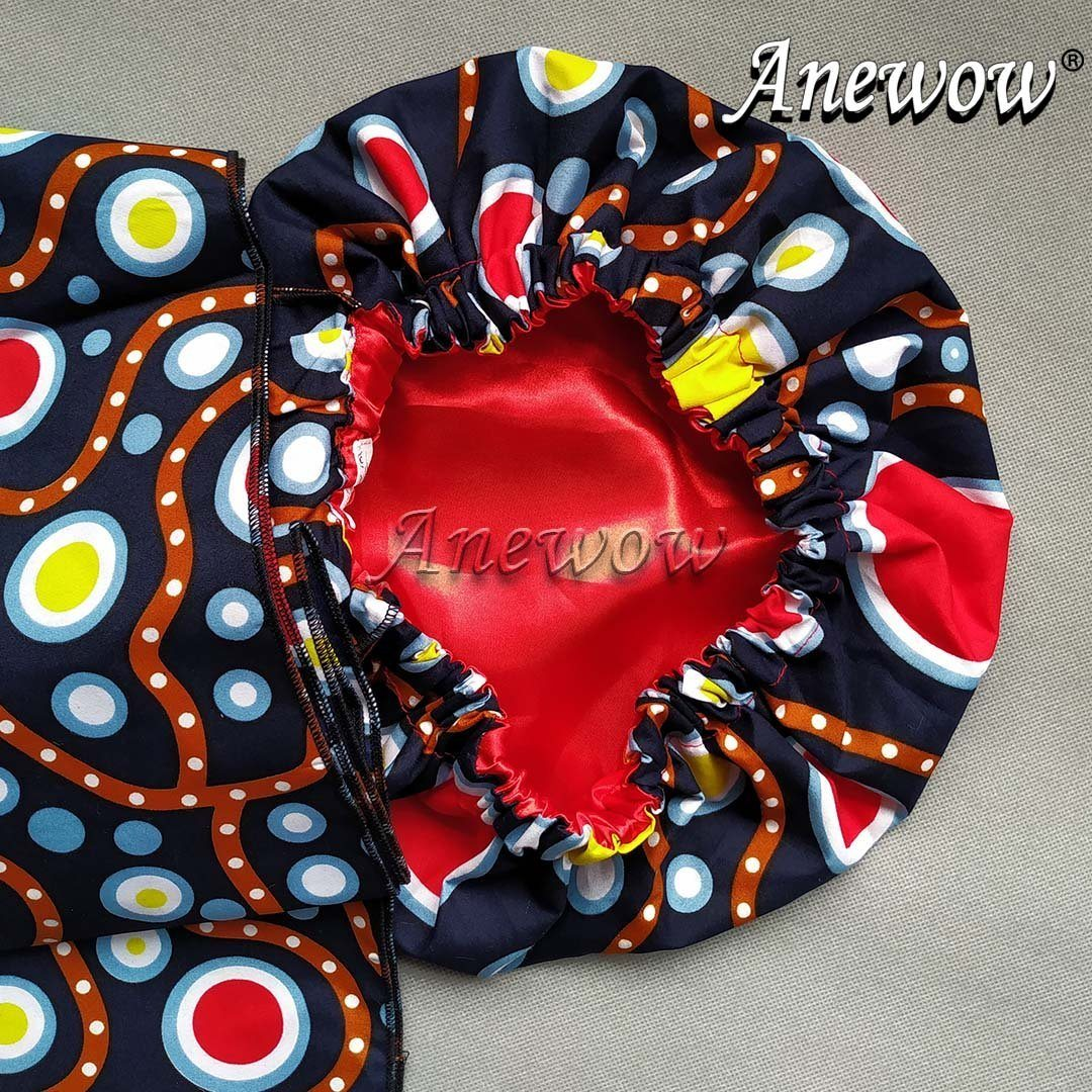 Head Wrap with Matching face cover-K1996