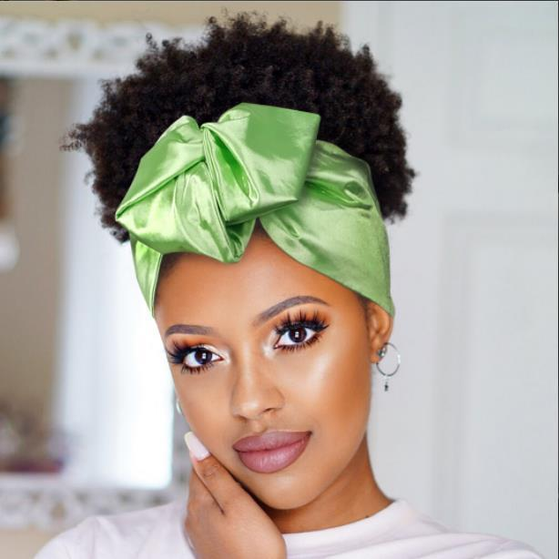 Lime | Open Crown Headwrap | -AF2010