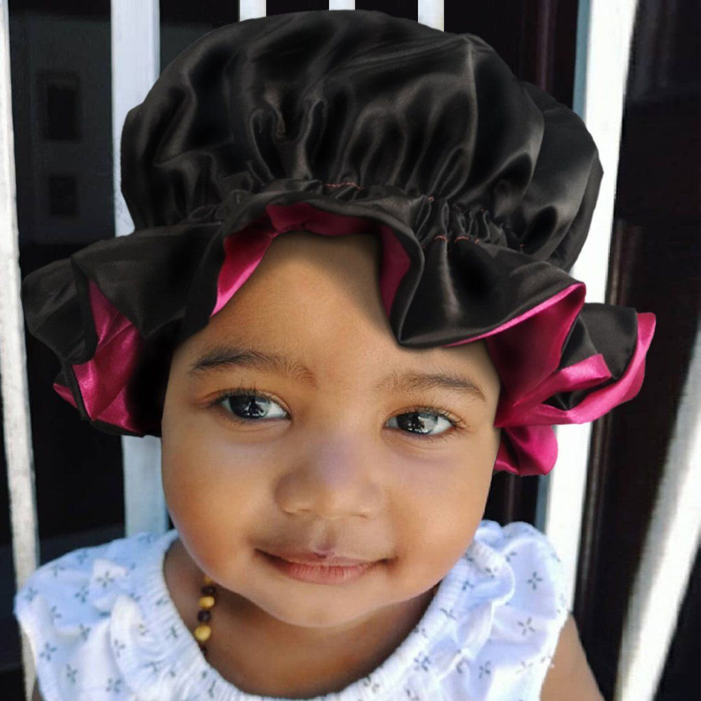 Lovely Girls Premium Satin Inner Head wrap-AW3000