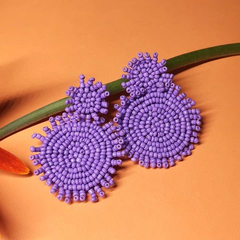 Chic Earrings (Purple) - AW7016