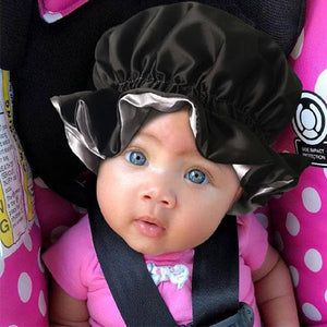 Lovely Girls Premium Satin Inner Headwrap-AW3001