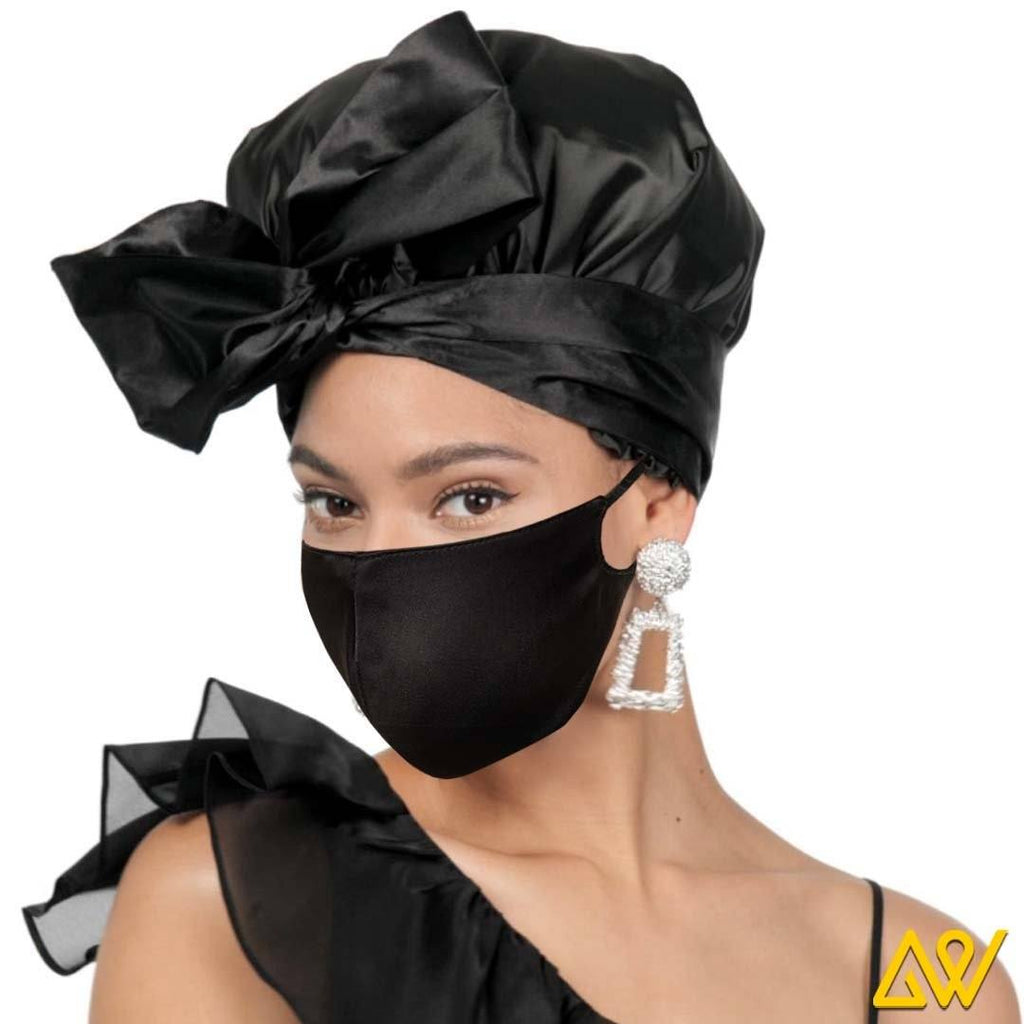 Face Mask with Satin Lining- K0002