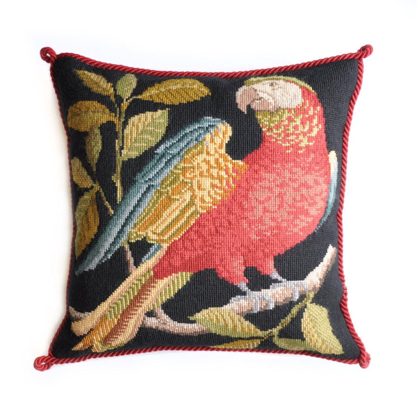 Alister the Parrot Needlepoint Kit Elizabeth Bradley Design