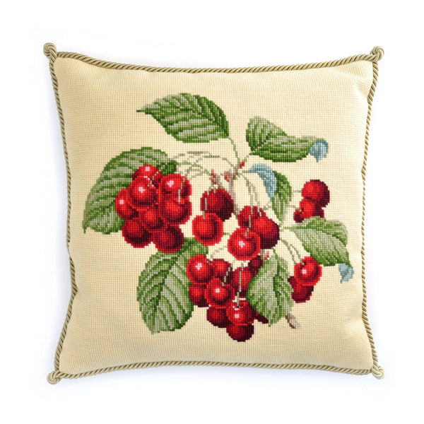 Cherries Needlepoint Kit Elizabeth Bradley Design