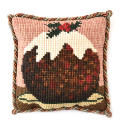 Christmas Pudding Mini Kit Needlepoint Kit Elizabeth Bradley Design