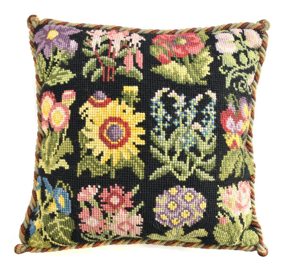 Cottage Garden Favourites Needlepoint Kit Elizabeth Bradley Design