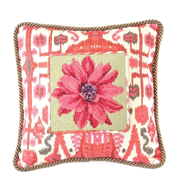 Dahlia Mini Kit Needlepoint Kit Elizabeth Bradley Design
