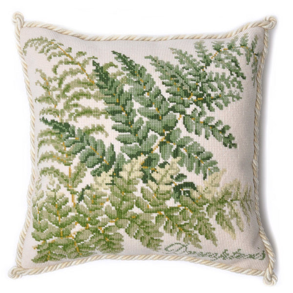 Dryopteris Needlepoint Kit Elizabeth Bradley Design
