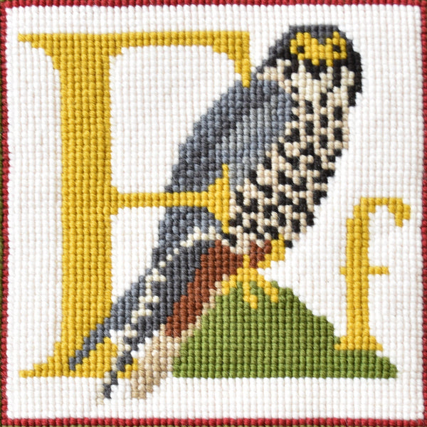 F-Falcon Needlepoint Kit Elizabeth Bradley Design