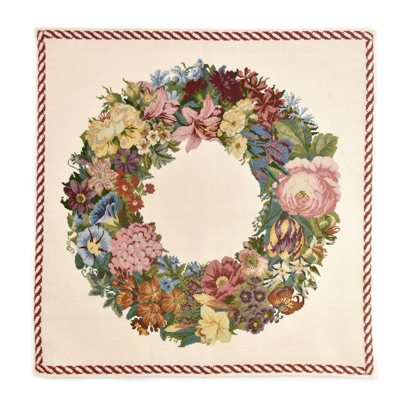 Giant Wreath Needlepoint Kit Elizabeth Bradley Design