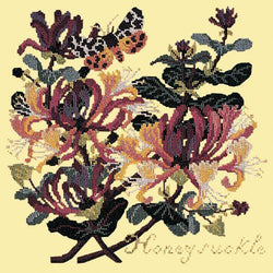 Honeysuckle Needlepoint Kit Elizabeth Bradley Design Butter Yellow
