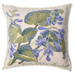 Hosta Blue Shadows Needlepoint Kit Elizabeth Bradley Design