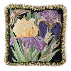 Iris Needlepoint Kit Elizabeth Bradley Design