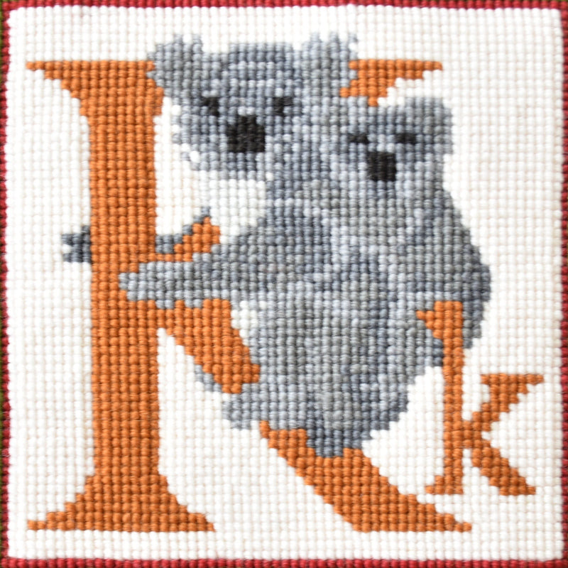 K-Koala Needlepoint Kit Elizabeth Bradley Design