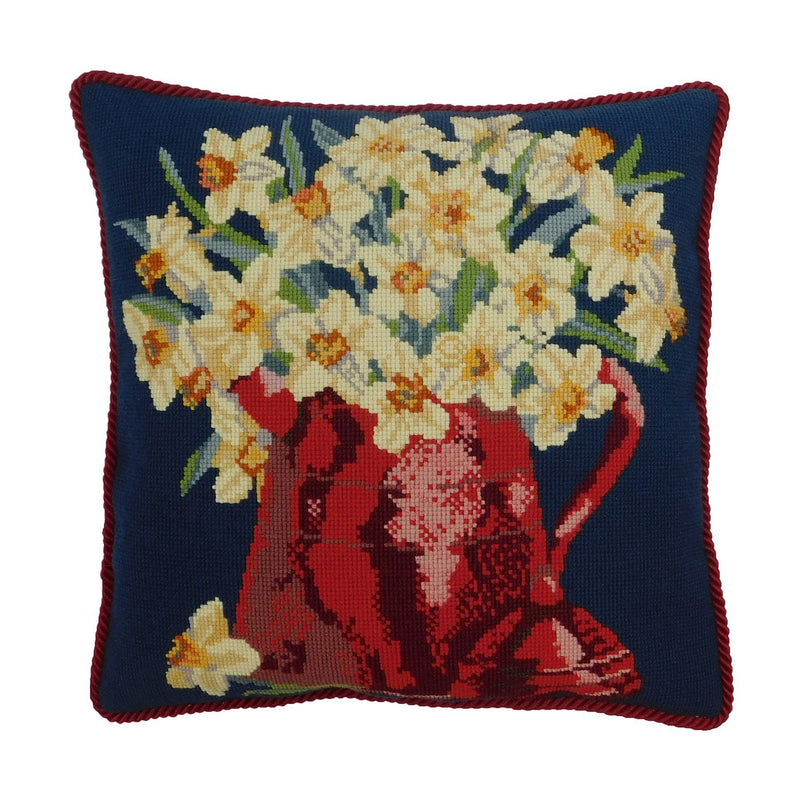 Narcissi Pot Needlepoint Kit Elizabeth Bradley Design