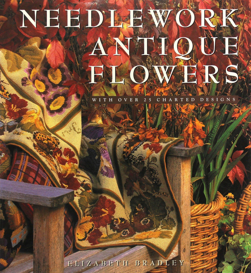 Needlework Antique Flowers Accessories Elizabeth Bradley Design