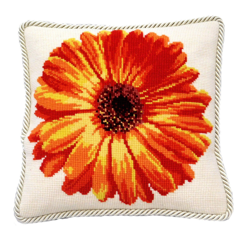 Pot Marigold Needlepoint Kit Elizabeth Bradley Design