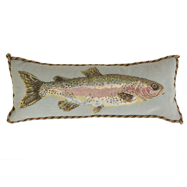 Rainbow Trout Needlepoint Kit Elizabeth Bradley Design