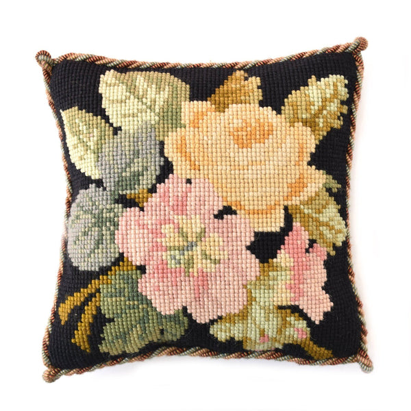 Rose Posy Needlepoint Kit Elizabeth Bradley Design