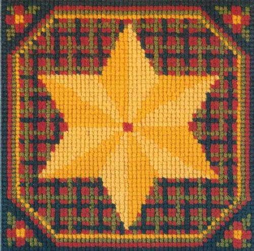 Star Mini Kit Needlepoint Kit Elizabeth Bradley Design