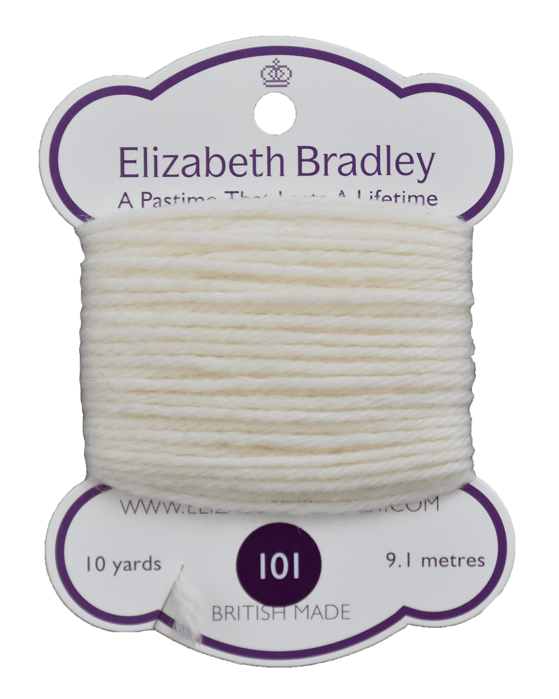 Tapestry Wool Colour 101 Tapestry Wool Elizabeth Bradley Design