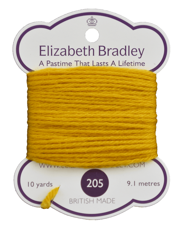 Tapestry Wool Colour 205 Tapestry Wool Elizabeth Bradley Design