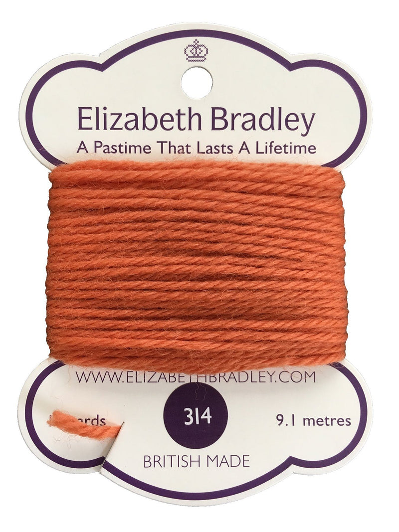 Tapestry Wool Colour 314 Tapestry Wool Elizabeth Bradley Design