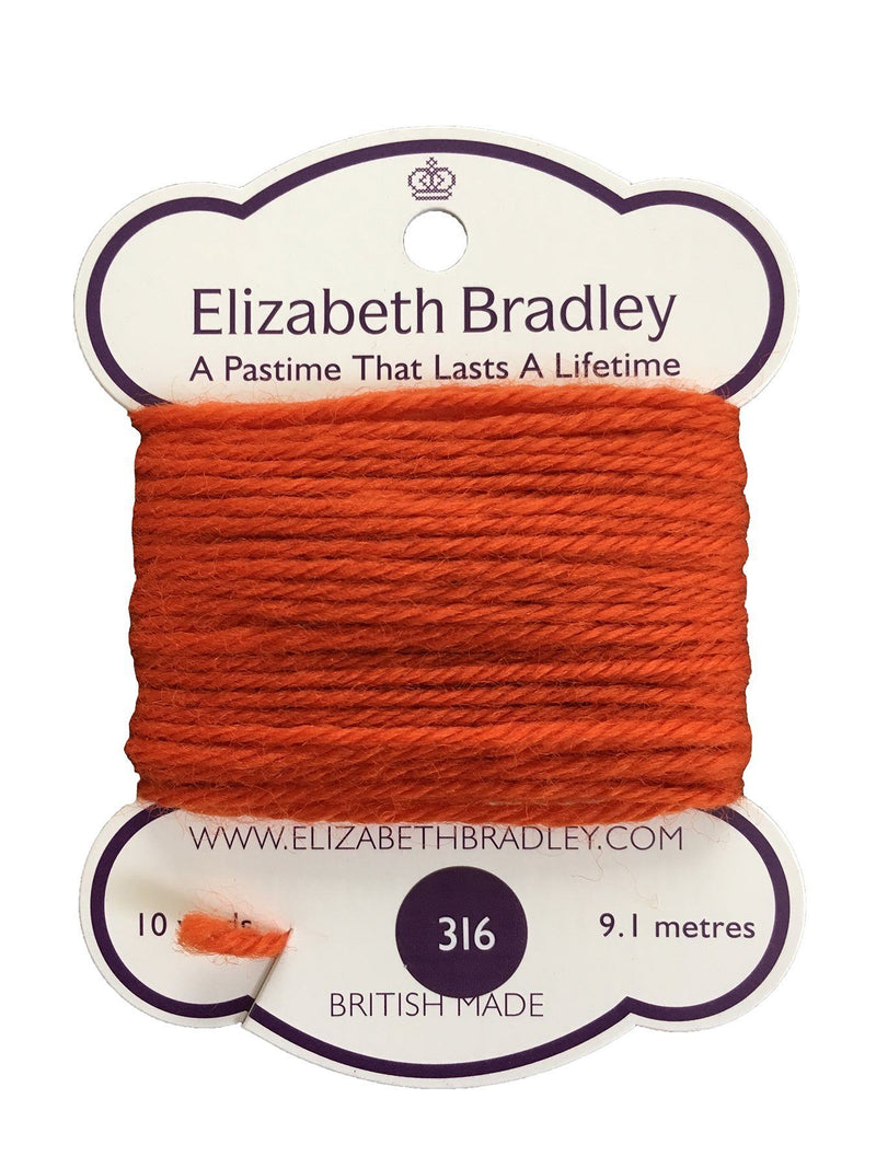Tapestry Wool Colour 316 Tapestry Wool Elizabeth Bradley Design