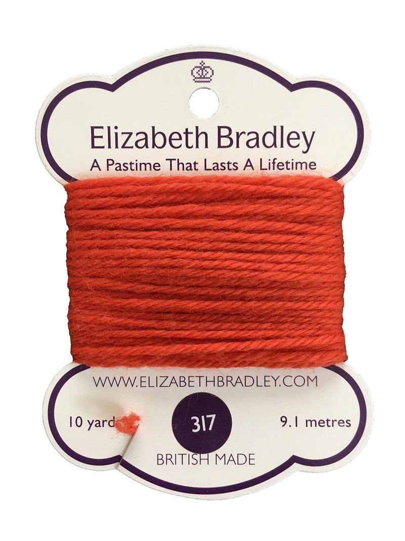 Tapestry Wool Colour 317 Tapestry Wool Elizabeth Bradley Design