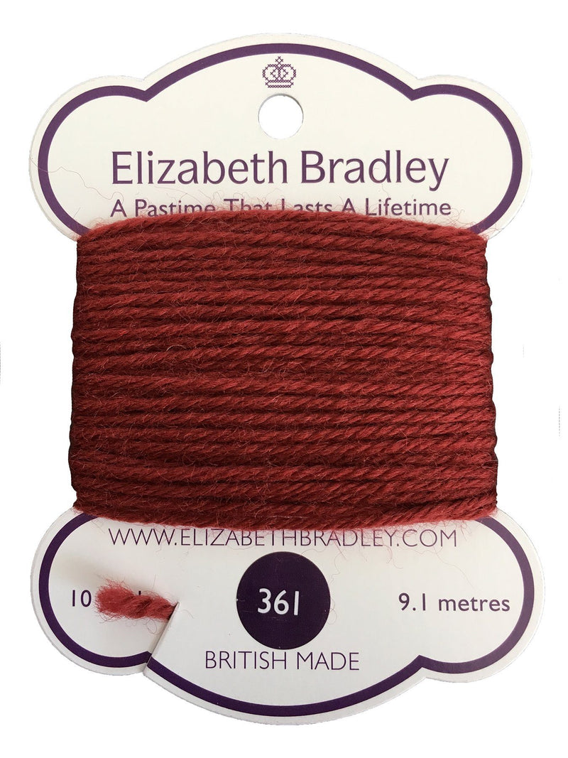 Tapestry Wool Colour 361 Tapestry Wool Elizabeth Bradley Design