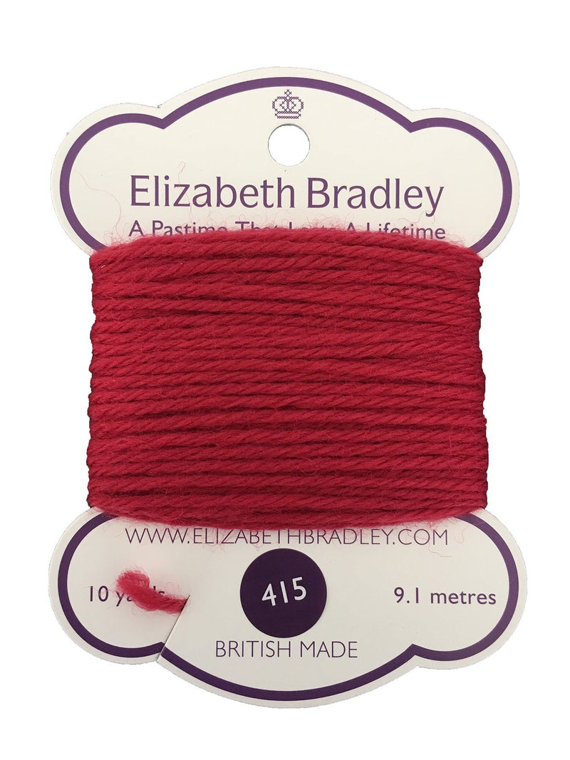 Tapestry Wool Colour 415 Tapestry Wool Elizabeth Bradley Design