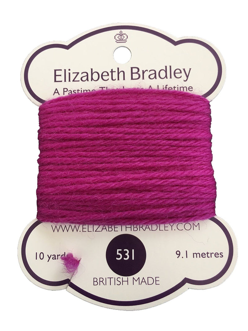 Tapestry Wool Colour 531 Tapestry Wool Elizabeth Bradley Design