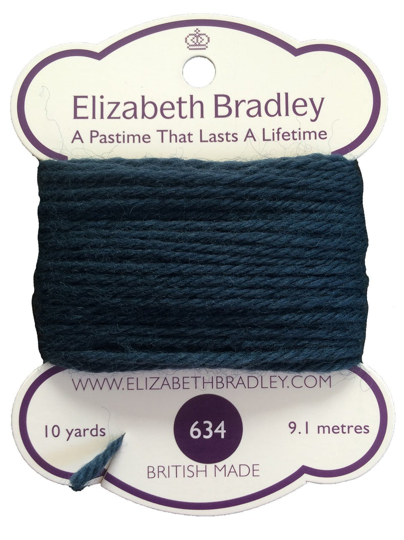 Tapestry Wool Colour 634 Tapestry Wool Elizabeth Bradley Design