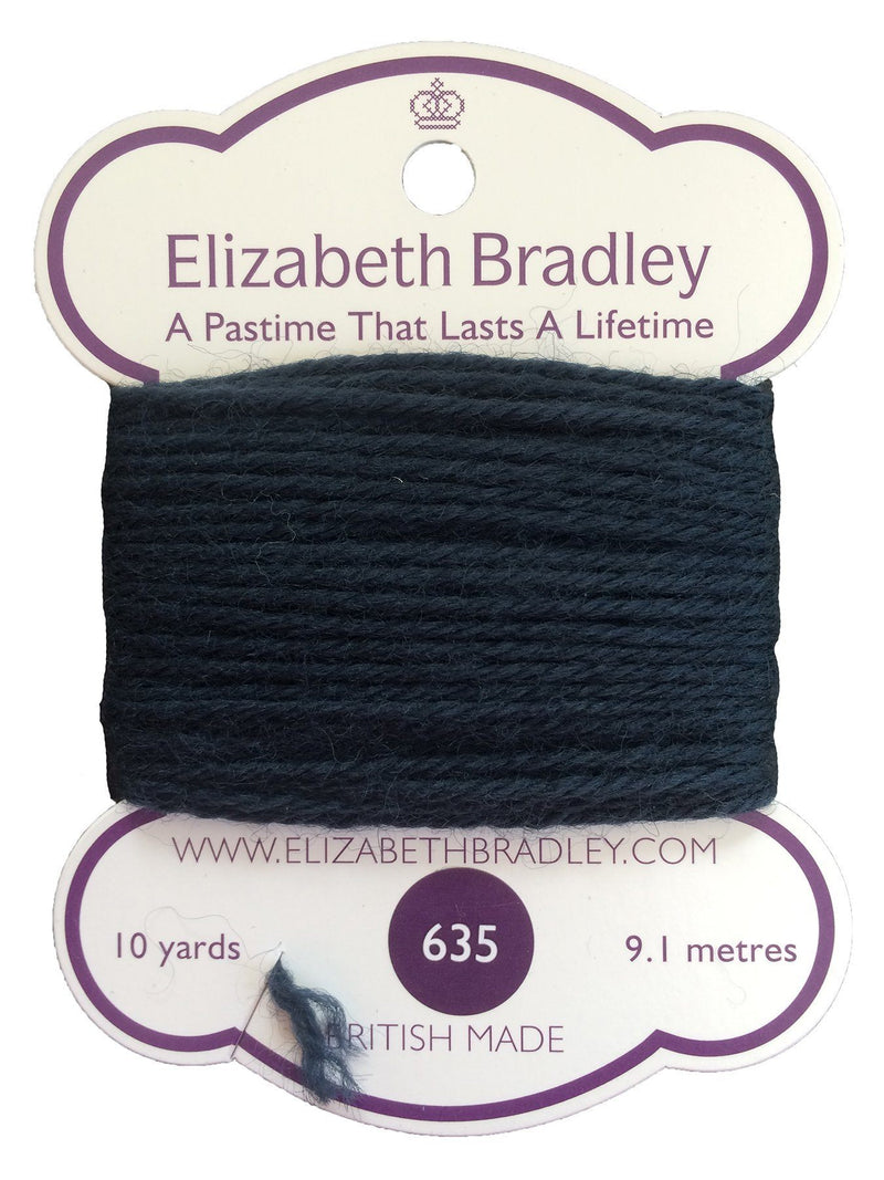 Tapestry Wool Colour 635 Tapestry Wool Elizabeth Bradley Design