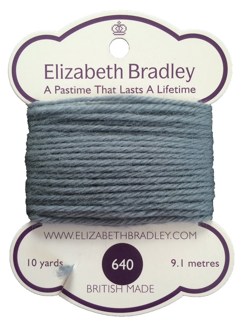 Tapestry Wool Colour 640 Tapestry Wool Elizabeth Bradley Design