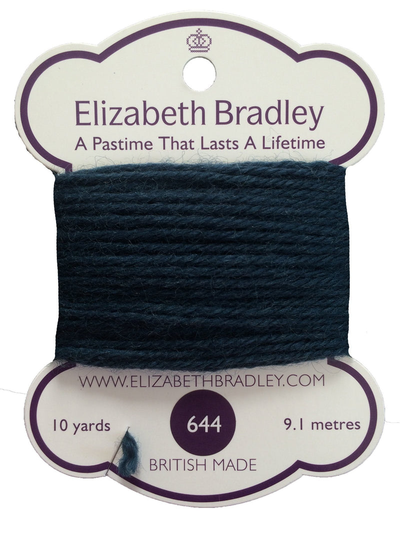 Tapestry Wool Colour 644 Tapestry Wool Elizabeth Bradley Design