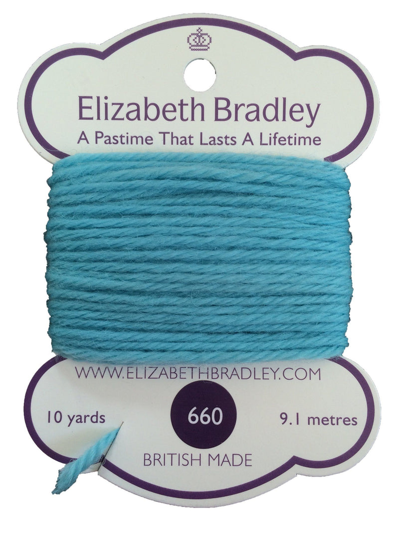 Tapestry Wool Colour 660 Tapestry Wool Elizabeth Bradley Design