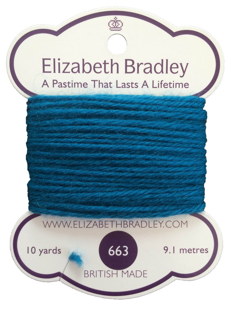 Tapestry Wool Colour 663 Tapestry Wool Elizabeth Bradley Design