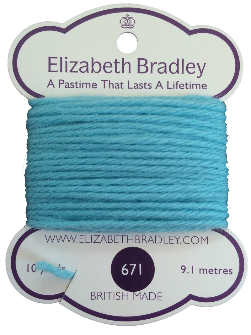 Tapestry Wool Colour 671 Tapestry Wool Elizabeth Bradley Design
