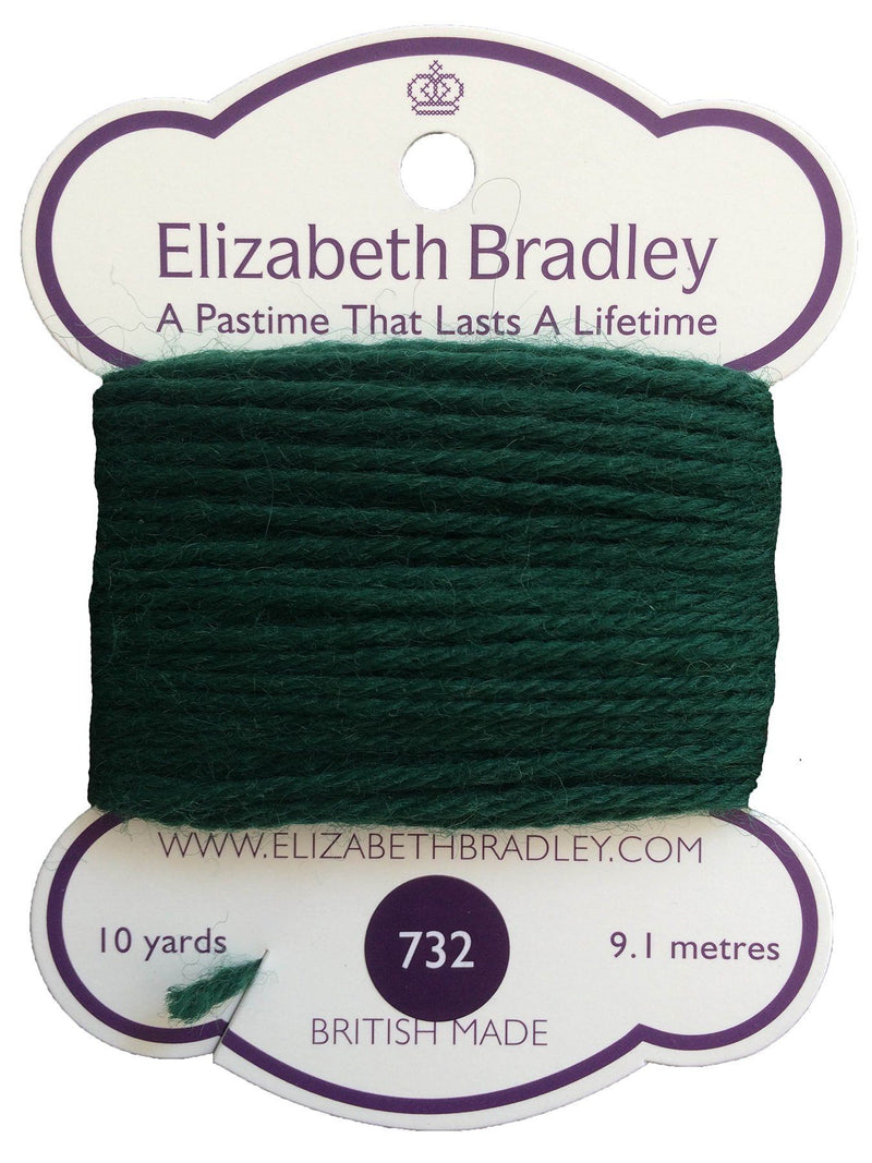 Tapestry Wool Colour 732 Tapestry Wool Elizabeth Bradley Design