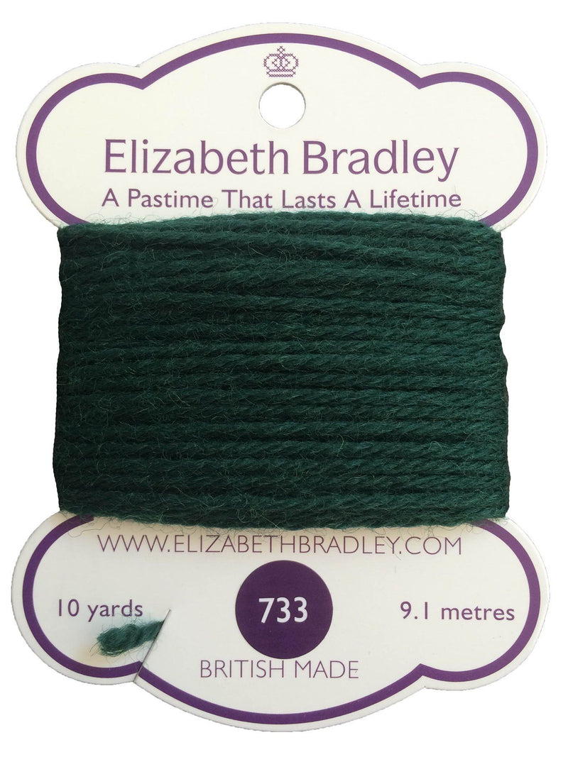 Tapestry Wool Colour 733 Tapestry Wool Elizabeth Bradley Design