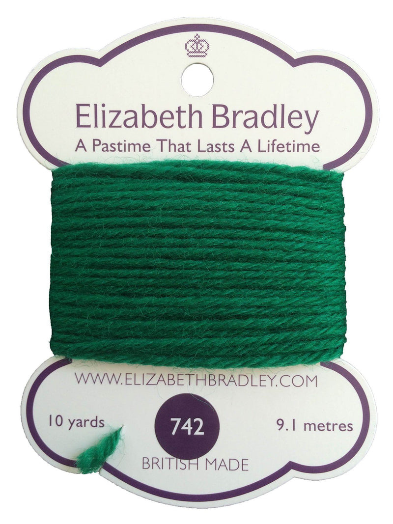 Tapestry Wool Colour 742 Tapestry Wool Elizabeth Bradley Design