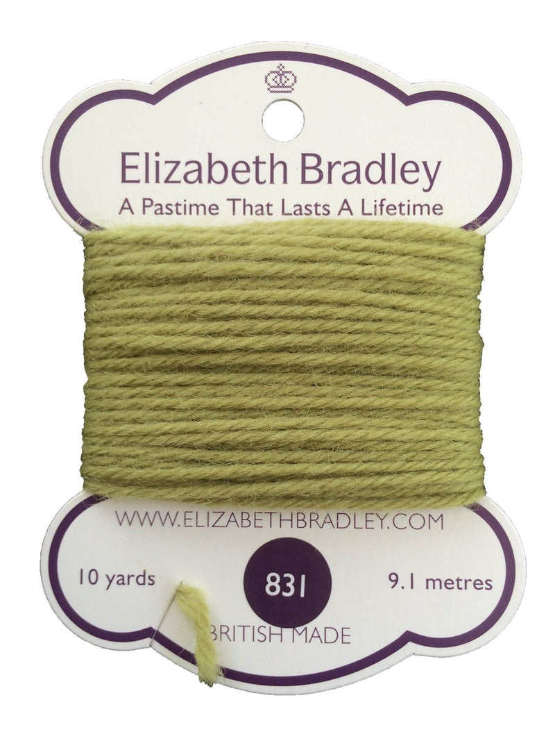 Tapestry Wool Colour 831 Tapestry Wool Elizabeth Bradley Design