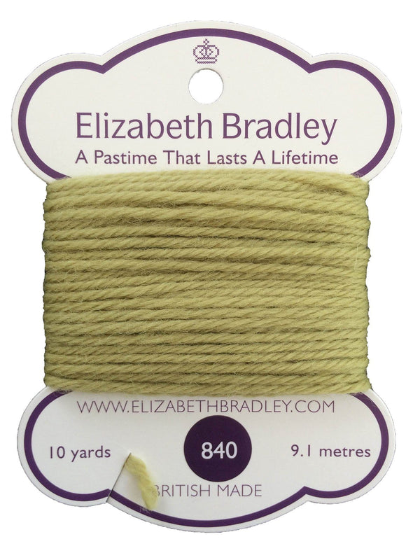 Tapestry Wool Colour 840 Tapestry Wool Elizabeth Bradley Design