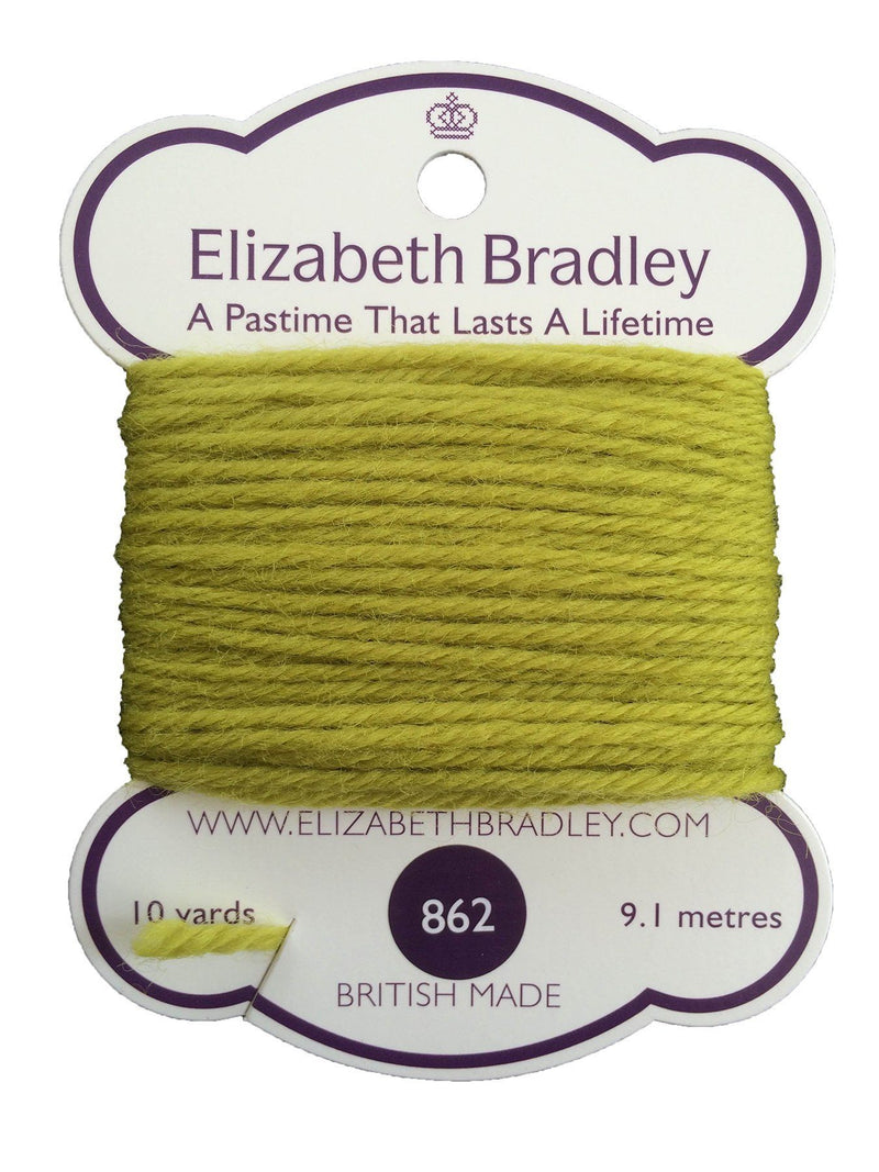 Tapestry Wool Colour 862 Tapestry Wool Elizabeth Bradley Design