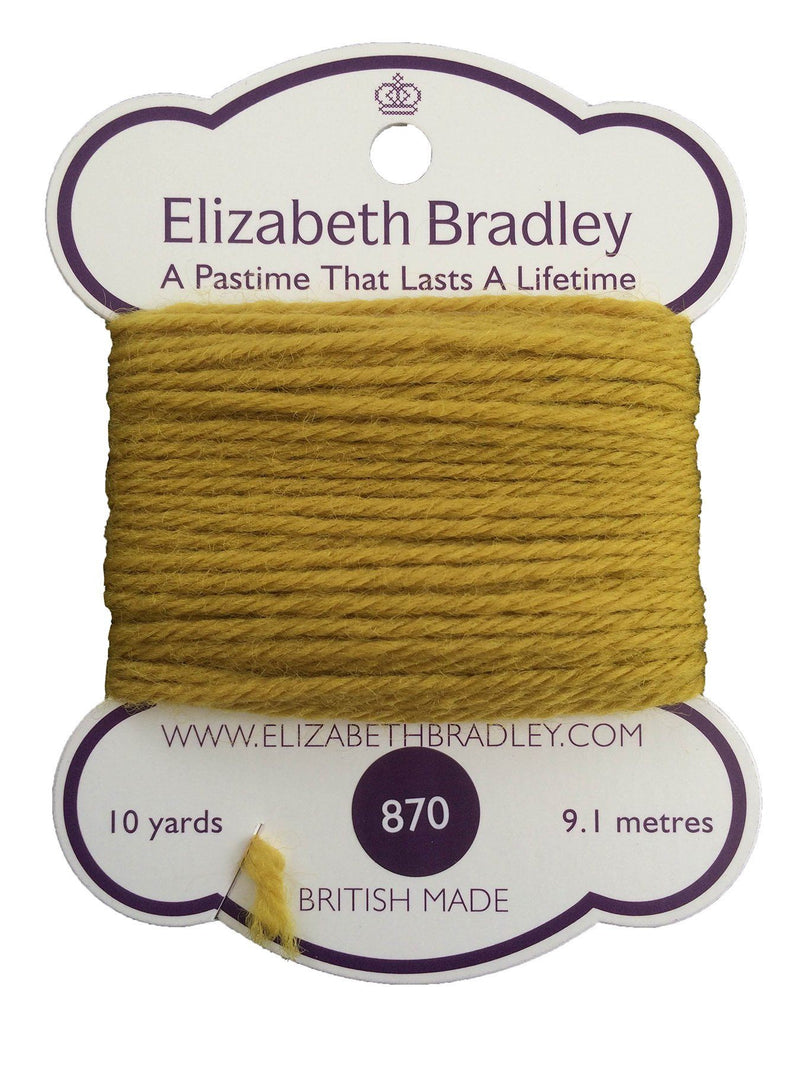Tapestry Wool Colour 870 Tapestry Wool Elizabeth Bradley Design