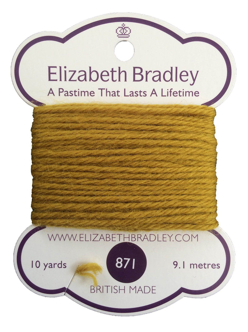 Tapestry Wool Colour 871 Tapestry Wool Elizabeth Bradley Design